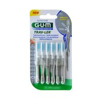 GUM Trav-Ler Super Fine Cylindrical 2.0mm 6τμχ