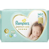 Pampers Premium Care New Baby Πάνες No0 1-2,5kg 30τμχ