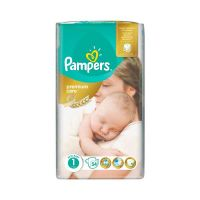 Pampers Premium Care Πάνες 1 (2-5kg) 54τμχ