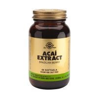 Solgar Acai Extract Brazilian Berry Σούπερ Τροφές 60 Softgels