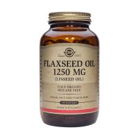 Solgar Flaxseed Oil 1250mg (Linseed Oil) Ουσιώδη Λιπαρά Οξέα 100 Softgels