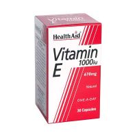 Health Aid Vitamin E 1000iu 30 κάψουλες