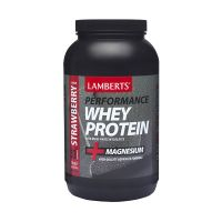 Lamberts Whey Protein + Magnesium 1000gr Φράουλα