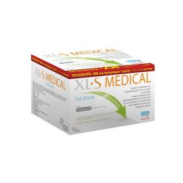 Omega Pharma XL-S Medical Fat Binder 180 ταμπλέτες